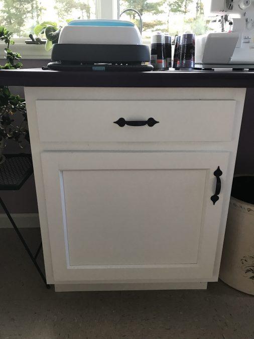 Vanity style cupboard