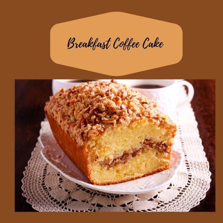 A Delicious Coffee Cake Recipe to Try