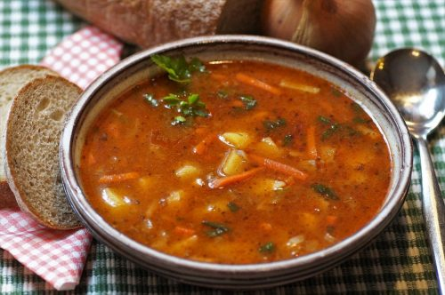 goulash, soup, lunch